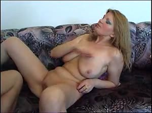 MILF with big natural juggs fucked hard