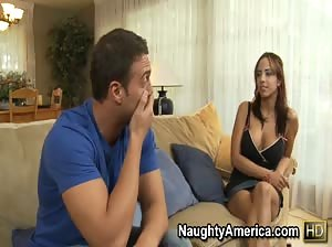 Hot Latina Mulani Rivera gets revenge on her husband by fucking his friend