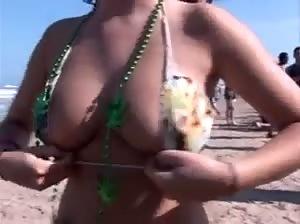 Beautiful ladies flashing their tits