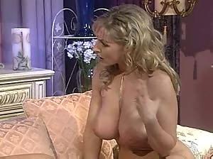 Busty Veronika Zemanova being interviewed naked