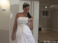 Bride face sitting fetish