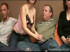 Sex at birthdayparty