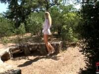 Nikita Valentin poses outdoors