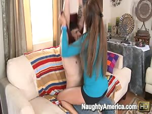 Hot MILF Monique Fuentes gets fucked hard by her son`s friend.