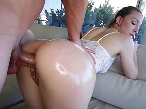Miss Rican enjoys a rough pussy pounding