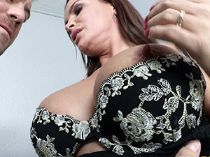 Diamond Foxxx - Office Tease