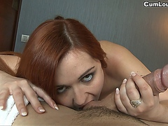 Angell Summers making a Handjob and Tittyjob