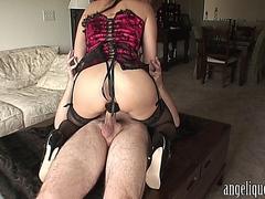 Angelique - Pre-anal sex