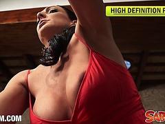 Carla Pons masturbating at Saboom