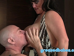 Busty Indianna Jaymes Squirts and Gets Fucked