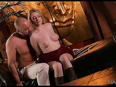 Babes - Stacie Jaxxx is the new girl next door and get drilled by older dude