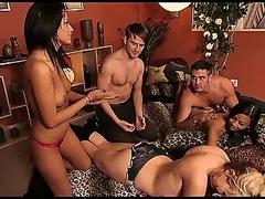 Awesome orgy bang