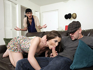 Molly Jane - Webcam Girl Puts on a Dirty Show