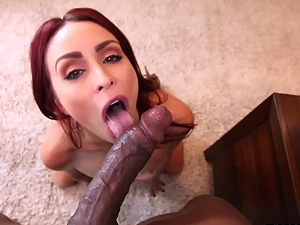 Monique Alexander getting hard black cock in her tight pussy