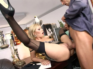 Naughty office ass fuck for Donna Bell