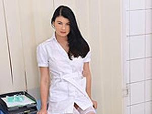 Nurse Treats Herself