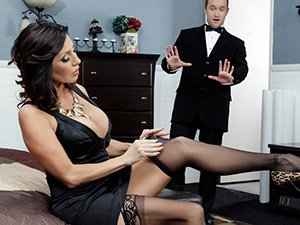 Tara Holiday - Stepmom Soothes The Groom