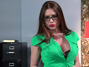 Veronica Vain - Secretary Stockings
