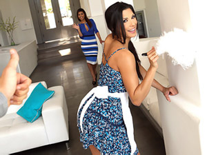 Alexa Tomas - Spicy Latina Maid Gets Banged