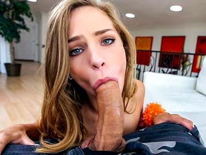 Sydney Cole loves it all!