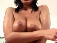 Sexy pornstar Veronica Vanoza rides a cock