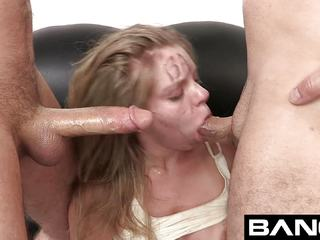 Trisha Takes Two Men's Dicks for her BANG Audition