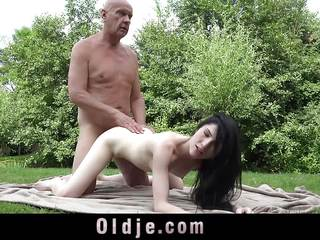 Dad Fucks Teen Step Daughter And Spunks In Her Mouth