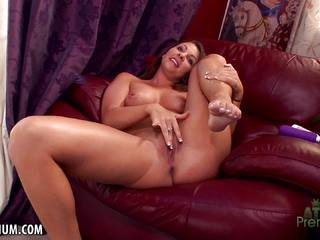 Randy Caley Hayes masturbating