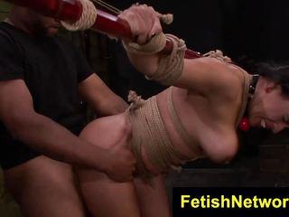 Becca Diamond rope bondage fuck