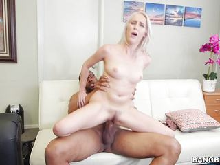 Cadence Lux pounded doggystyle