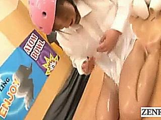 Subtitled crazy bizarre Japanese amateur bowling game