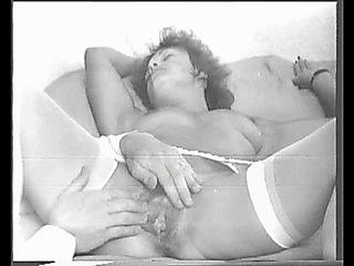 He fingers Yvonne's pussy