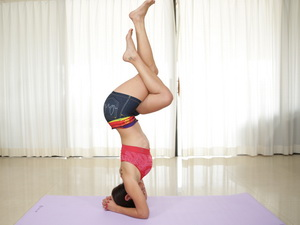 Monster yoga stretches Sofia Rivera