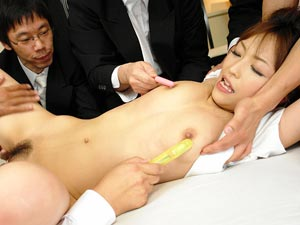 Yui Ayana gets fucked hard by many horny guys