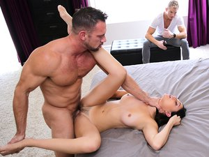 Dad What Are You Doing? Nanny Shamed For Fucking Adult Son