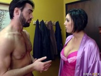 Dylan Ryder in sexy lingerie fucked hard