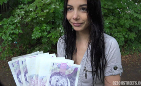 Beautiful Czech Teen Cheated her BF for Cash
