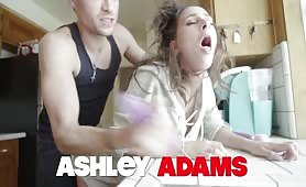 Stepbrother Anally Manhandles Ashley!