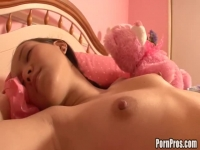 Asian chick loves being dicked in her sleep.