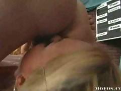 Kagney Krissy threesome fuck