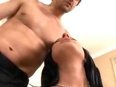 Big Tits Get Sprayed