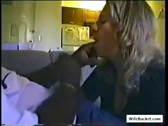 Mom gets a big mouthful