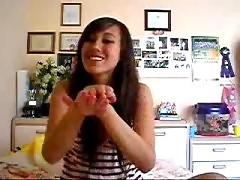 MonicaB brunette amateur babe