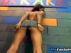 Messy Bukkake For Isabell