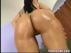 Plump Rumps, Hispanic wonder cock sucking and butt slapping