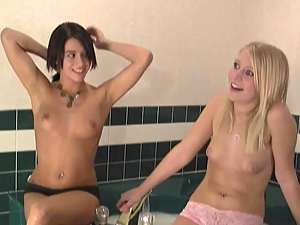Two Ultra Hot Teen Roommates Audution Part 2