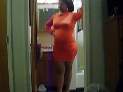 red tight mini skirt