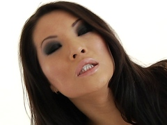 Asa Akira Whimpers for Anal and Double Penetration