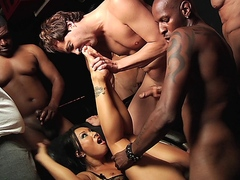 Hardcore Gang Bang Theater with Asian Asa Akira