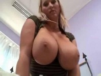 MILF with big natural tits fucked hard